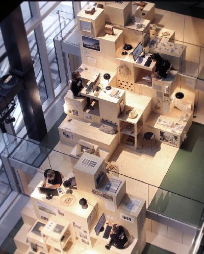 Văn phòng kiến trúc Pop-up tại Copenhagen