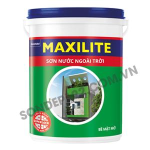 Sơn nước ngoài trời Maxilite -18L