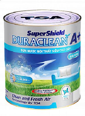 Sơn nước SuperShield DuraClean A+ Siêu Bóng - 4L